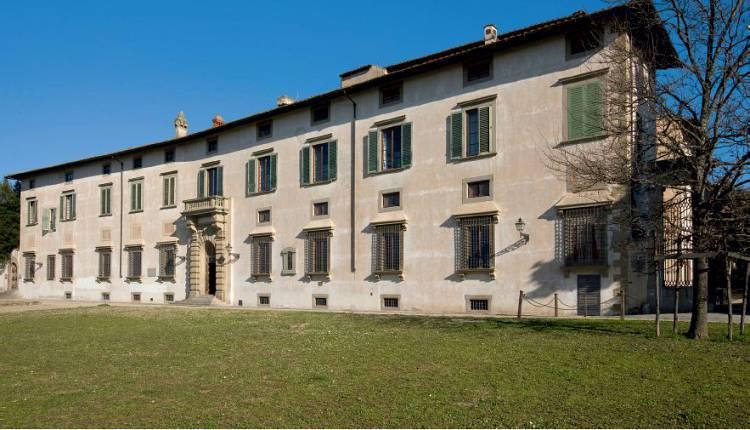 L'immagine rappresenta la sede dell'Accademia della Crusca, Villa Castello, Firenze