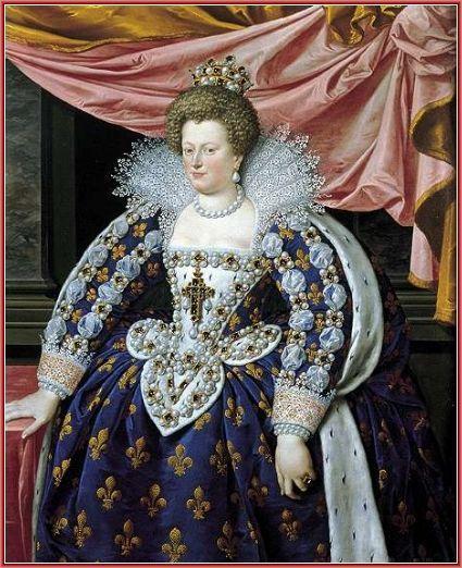 L'immagina raffigura il ritratto di Caterina de Medici