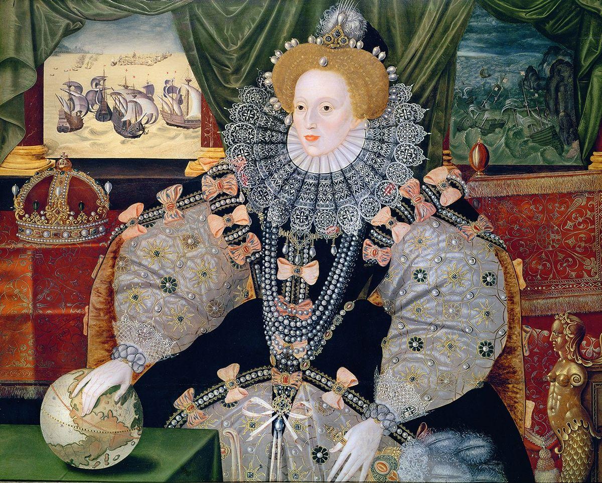 L'immagine rappresenta il ritratto di Elisabetta I