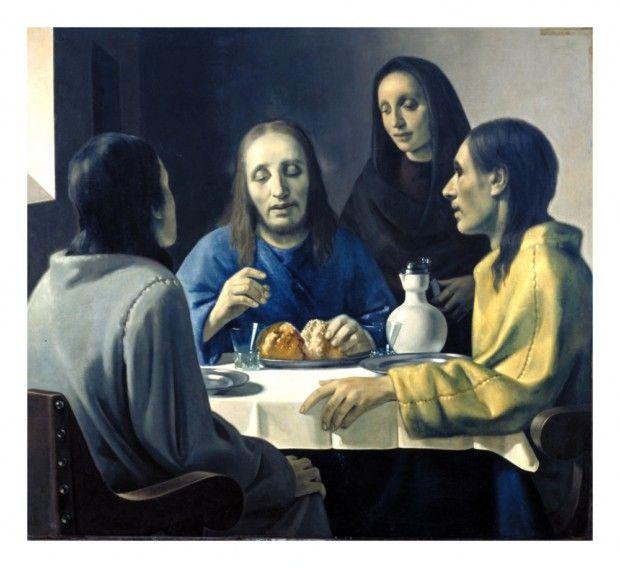 L'immagine rappresenta La cena di Emmaus - Falso di Han van Meegeren