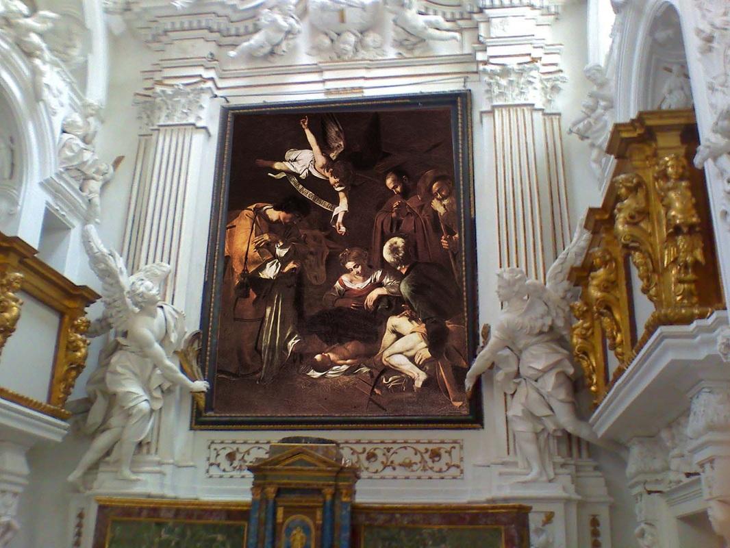 L'immagine rappresenta l'Oratorio san Lorenzo a Palermo