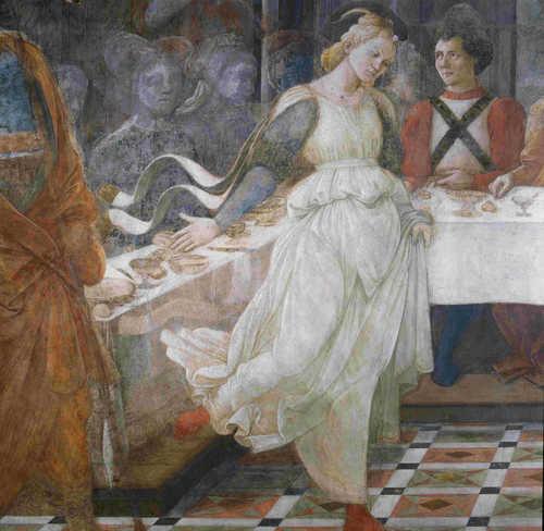 L'imLucrezia Buti ritratta come Salomè, Filippo Lippimagine rappresenta