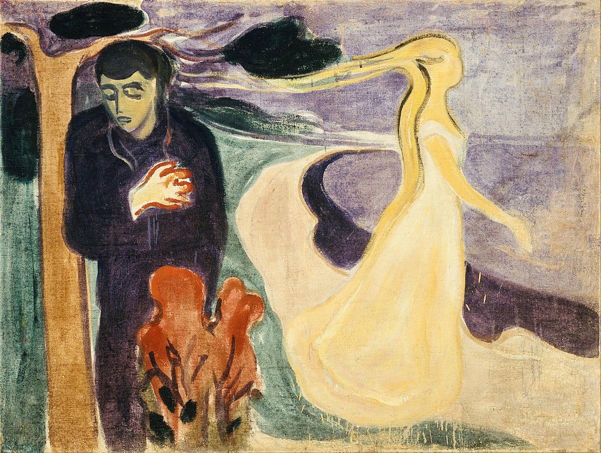 """""""Separzione"""" di Edvard Munch, The Oslo Museum, 1896"""