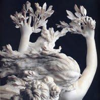 L'immagina raffigura un particolare di Apollo e Dafne - Gian Lorenzo Bernini, Galleria Borghese, Roma