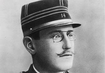 Fotografia del Colonnello Alfred Dreyfus