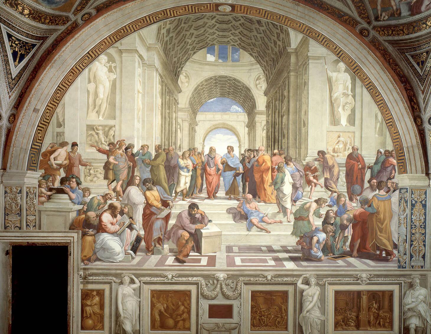 Il Diritto Perfetto - La Scuola di Atene