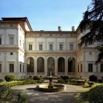 L'immagina raffigura Villa Chigi a Roma